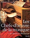 echange, troc Roland de Candé - Les chefs-d'oeuvre de la musique Tome 1 de Machaut à Beethoven