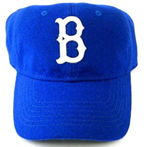 MLB Brooklyn Dodgers American Needle Tymes Vintage Washed Flannel Cap with Leather... by American Needle