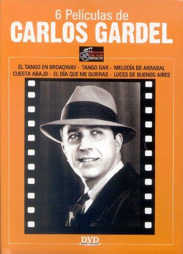 6 Peliculas de Carlos Gardel