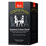 Melitta Hazelnut Creme Decaf Coffee Pods 18 Count  Pack of 4