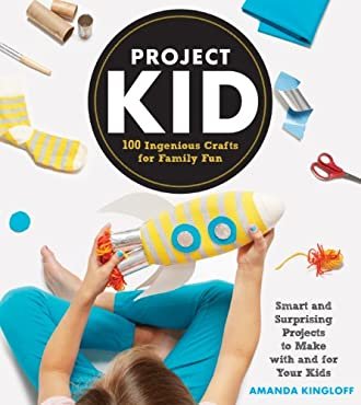 Perfect for crafty parents who are eager to get their kids excited about DIY, ProjectKid is everything you could want in a craft book: 100(!) stylish, inventive projects; step-by-step photographs; tips for the novice crafter; easy-to-follow i...