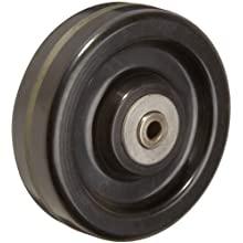 RWM Casters Phenolic Wheel with Straight Roller Bearing 650 lbs Capacity