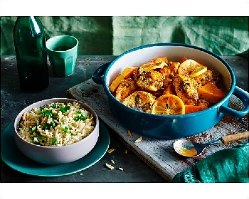 photographic-print-of-chicken-tagine-with-pumpkin-and-almond-pilau