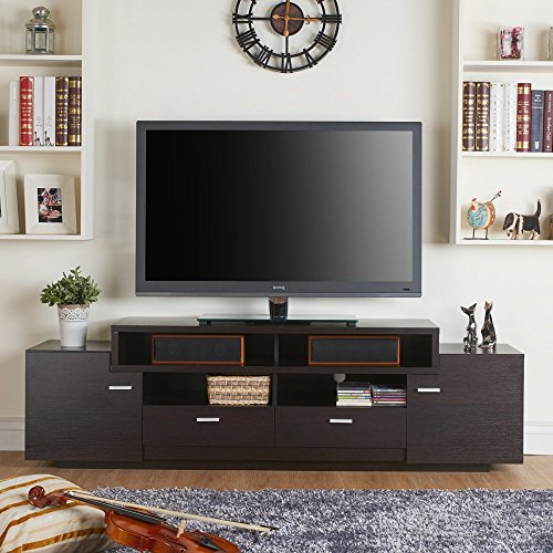 Furniture of America Stockton Multi Storage TV Stand (Storage Low Profile compare prices)