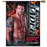 UFC Mixed Martial Arts Ryan Bader 27-by-37 Inch Vertical Flag