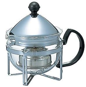 Hario Chaor 2-Cup Tea Maker, Silver