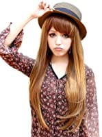 Bemaystar Women's Fashion Long Brown Straight hair wig by Bemaystar