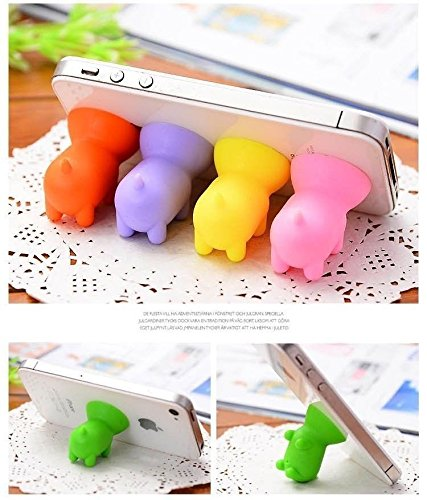 Efanr-5Pcs-Universal-Super-Cute-Mini-Pig-Shaped-Silicone-Rubber-Cuction-Cup-Smart-Phone-Cellphone-Stand-Holder-Mount-for-Apple-iPhone-6-6-plus-5C-5S-4S-iPad-2-3-4-Air-Mini-Retina-Tablet-Samsung-Galaxy