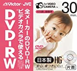 Victor ビデオカメラ用8cmDVD-RW HG 片面録画用 [VD-W30J]