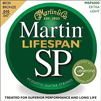 10-Pk. Martin 80/20 Bronze Guitar Strings