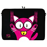 Kitty to Go LS140-11 Designer Neopren Netbook Tablet Notebook Laptop Sleeve bis 29,5 cm 11,6