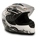 VCAN V136 Silver Small Full Face Helmet