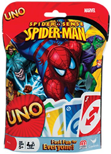 Cardinal Spider-Man Uno Cards