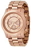 Michael Kors Watches Michael Kors Men's Rose Gold Oversize Runway (Rose Gold)