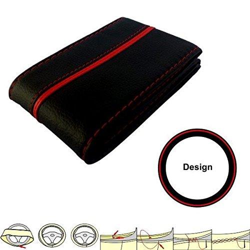 akhan sc301br housse prot ge volant noir rouge housse de. Black Bedroom Furniture Sets. Home Design Ideas