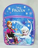 Disney Frozen Princess Elsa & Anna 16 Backpack with 1 Large Front Pocket