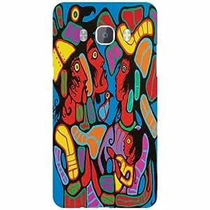 Back Cover For Samsung J5 new edition 2016 (Printed Designer)