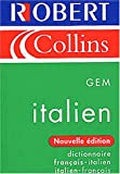 Robert & Collins MINI Italien - Dictionnaire francais �- italien;  italien �- francais (French & Italian GEM Pocket Dictionary) (French Edition)