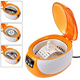 OriGlam Professional Digital Ultrasonic Jewelry & Eyeglass Cleaner Cleaning Machine with Degas Function