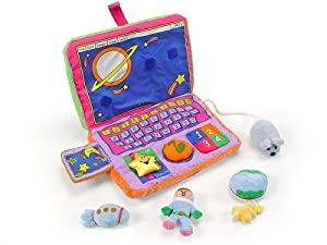 Baby's First Laptop Computer Playset
