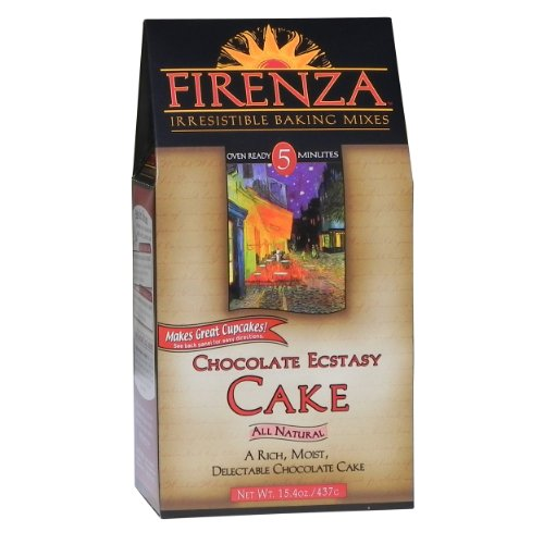 Firenza Cake Mix, Chocolate Ecstasy, 15.4 Ounce
