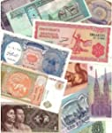 25 Different World Foreign Banknotes,...
