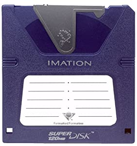 Imation LS120 SuperDisk 120MB