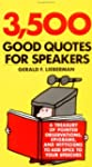 3,500 Good Quotes for Speakers
