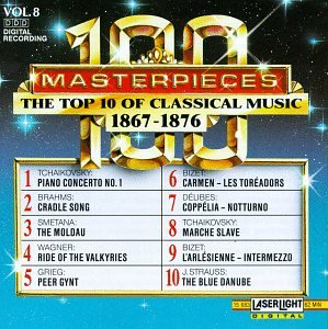 Various Artists - 100 Masterpieces: The Top 10 of Classical Music (1867-1876), Vol. 8 - Zortam Music