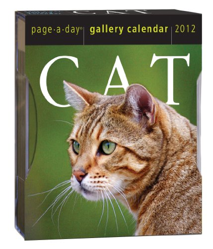 Cat 2012 Gallery Calendar (Page a Day Gallery Calendar)