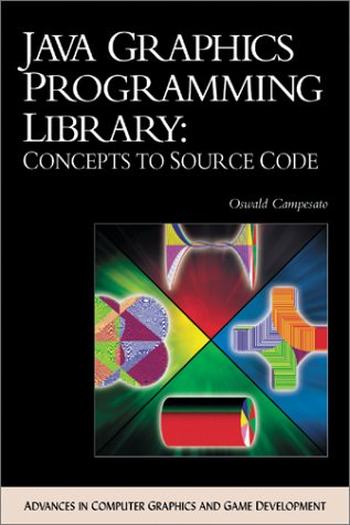 Java Graphics Programming Library: Concepts to Source Code (with CD-ROM) (Advances in Computer Graphics and Game Development Series)
