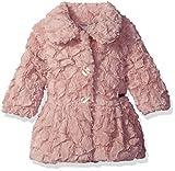 Calvin Klein Girls Baby Faux Fur Jacket, Light Pink, 24M