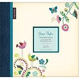 Sunshine Glitter Bird Large 12 Scrapbook Memory Book Photo Album 12x12