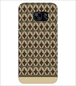 PrintDhaba Pattern D-1577 Back Case Cover for SAMSUNG GALAXY S7 (Multi-Coloured)