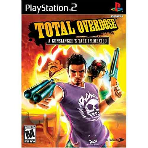 Total Overdose - A Gunslingers Tale In Mexico PS2 [Interactive DVD] (Gun Ps2 compare prices)