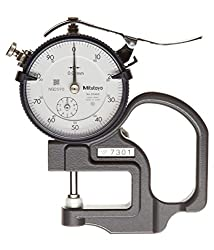 Mitutoyo Dial Thickness Gauge 7301 (Dark Grey)