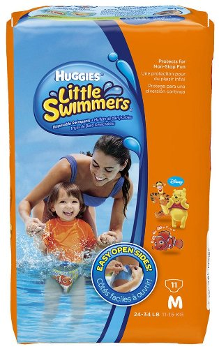 Huggies Little Swimmers Disposable Swimpants, Medium - 11 Ea by Kimberly-Clark