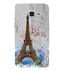 Eiffel Tower Painting 3D Hard Polycarbonate Designer Back Case Cover for Samsung Galaxy J3 (6) J320F :: Samsung Galaxy J3 (2016)