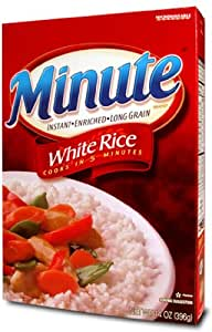 Amazon.com : Minute Rice Long Grain Rice, 14-Ounce (Pack