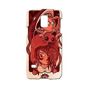 BLUEDIO Designer Printed Back case cover for Samsung Galaxy S5 - G0264