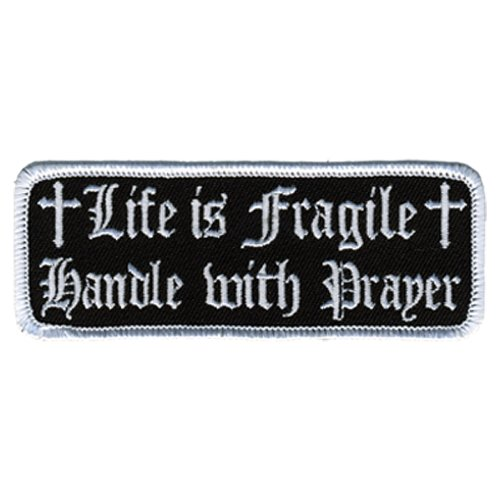 Hot Leathers Life Is Fragile Patch (4