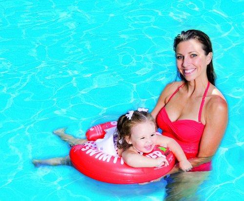 リトルプリンセス スイムトレーナークラシック レッド (対象月齢3ヶ月~4才、体重6~18kg)
