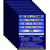 EZ Solutions - Test Prep Series - Set of Books - Math Section - GRE (9 Premium Books) (Ez Test Prep)