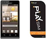 【Amazon.co.jp 限定】So-net PLAY SIM(micro)+Huawei SIMフリースマートフォン Ascend G6 ブラック <容量2GB・月額880円~>