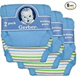 Gerber Potty Training Pants 6-Pack (3T, Boy's)