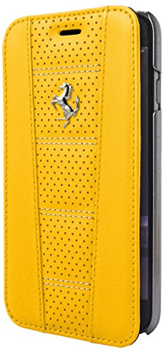 ferrari-458-perforated-book-case-leather-for-iphone-6-6s-yellow-white-stitch
