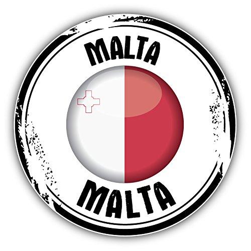 malta-flag-grunge-rubber-stamp-autocollant-voiture-decoration-de-vinyle-12-x-12-cm