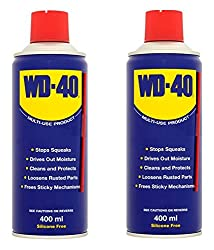 WD-40 Multi-Use Product Spray Double Saving - 400 ML - with Straw - Pack of 2
