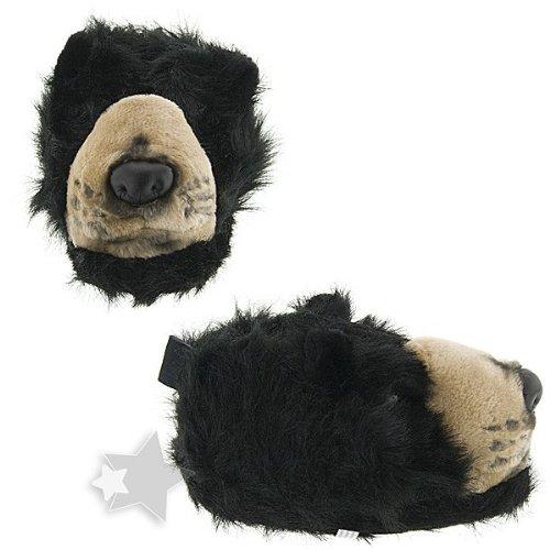 Cheap Black Bear Animal Slippers for Women and Men (B00869E5S0)