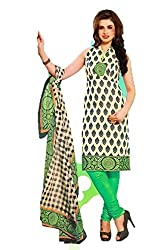Riddhi Dresses Women's Cotton Unstitched Dress Material (Riddhi Dresses 95_Multi Coloured_Free Size)